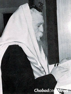 "Rabbi Zalman Serebryanski, known to all as ""Reb Zalman"""