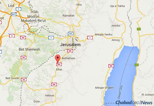 Neve Daniel is located in Gush Etzion, between Jerusalem and Hebron.