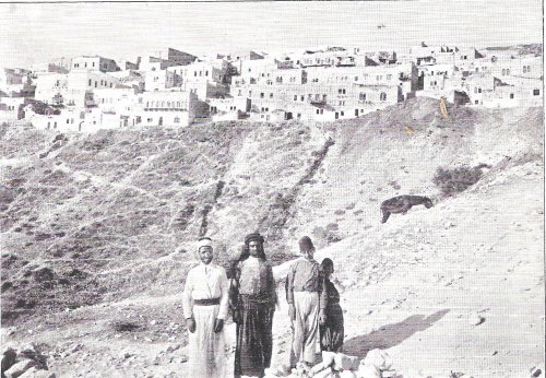 תמונה עתיקה של העיר צפת