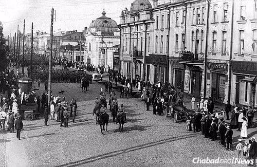 Irkutsk in 1918, almost 100 years ago (Photo: Wikimedia Commons)