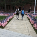 On 13th anniversary of attacks, students remember September 11th