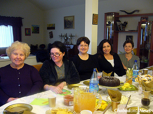 Hirman, originally from Ukraine, gives a class on Judaism once a month to local Russian women at Chabad of the Conejo in Agoura Hills in Southern California. Sometimes, the search for teaching materials takes her all over the Chabad.org site.