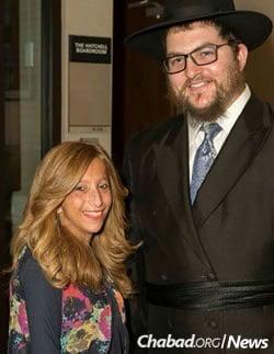 Rabbi Shmulie and Rivky Berman