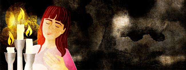 Еврейская женщина: Тора не на небесах
