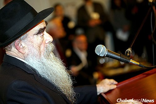"""Said Rabbi Shemtov: """"Chabad at UPenn was the first set program at a college campus, though today Chabad on Campus is considered a normal facet of Jewish outreach."""" (Photo: Marc Smiler)"""