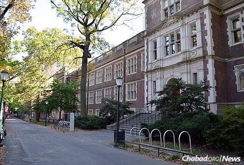 The Johnson Pavilion and Hamilton Walk of the Perelman School of Medicine at Penn. (Photo: Wikimedia Commons)
