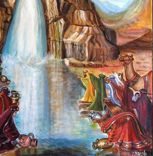 Moses Strikes the Rock: The Full Story - Jewish History