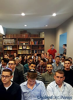 Sinai Scholars: This past year, 49 students were enrolled among three classes.