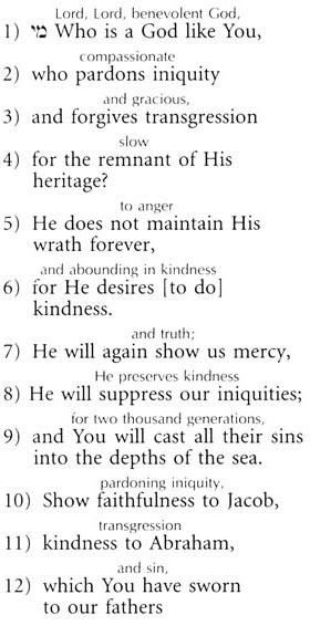 photo regarding Printable Tashlich Prayer known as The Tashlich Prayer - English - Higher Holiday seasons