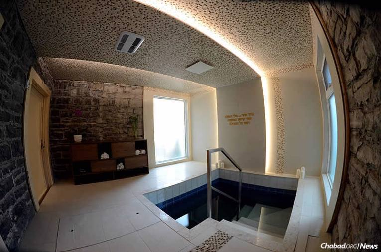 A new mikvah in Quebec City will serve Jewish residents and visitors to the French-speaking enclave. (Photo: Louis Philippe Faucher)