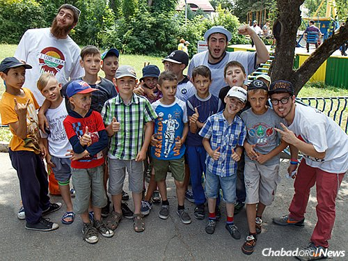 Camp is about a summer spent with friends, old and new. (Photo: Avraham Edery)