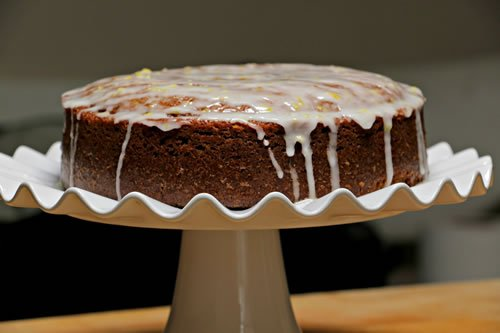Honey Cake With Lemon Drizzle Cakes Kosher Recipe