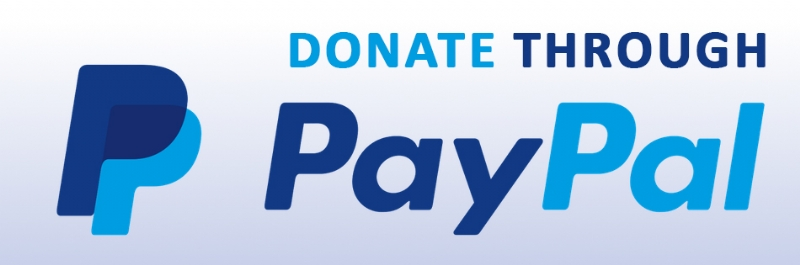 "Button that says ""Donate Through Paypal"""