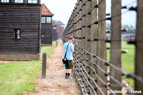 """""""I expected Poland to be a very dark place, still fully scarred from the Holocaust."""" (Photo: Bentzi Sasson/CTeen)"""