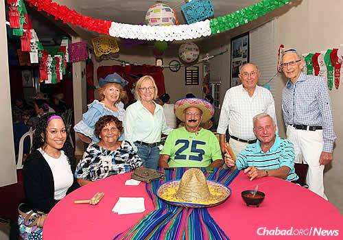 This year's Purim theme: a Mexican fiesta