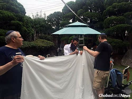 Making the canopy