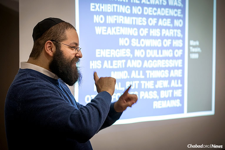 Rabbi Yehoshua Soudakoff, director of the Jewish Deaf Foundation, will lead High Holiday services for the Deaf community, to be held in Brooklyn, N.Y. In former years, 100 people have attended, many from the immediate area, but some from as far away as California.