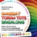 Shabbat Torah Tots Singalong