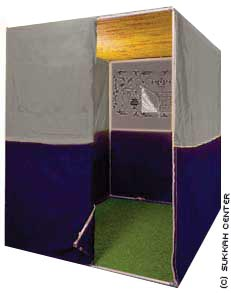 How to Build a Sukkah - The basics of building a sukkah and