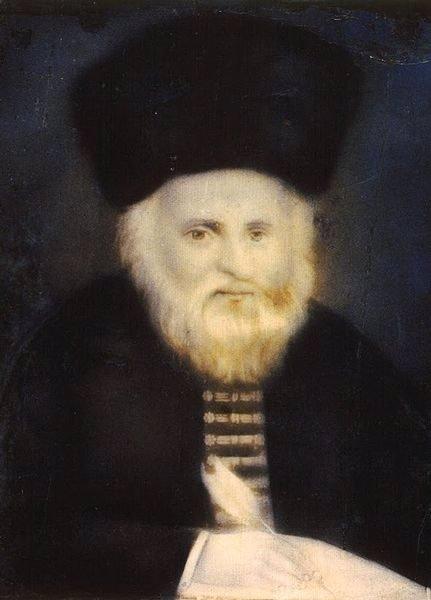 Rabbi Eliyahu, the famed Gaon of Vilna.