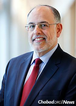 Dr. Mark I. Rosen of Brandeis University
