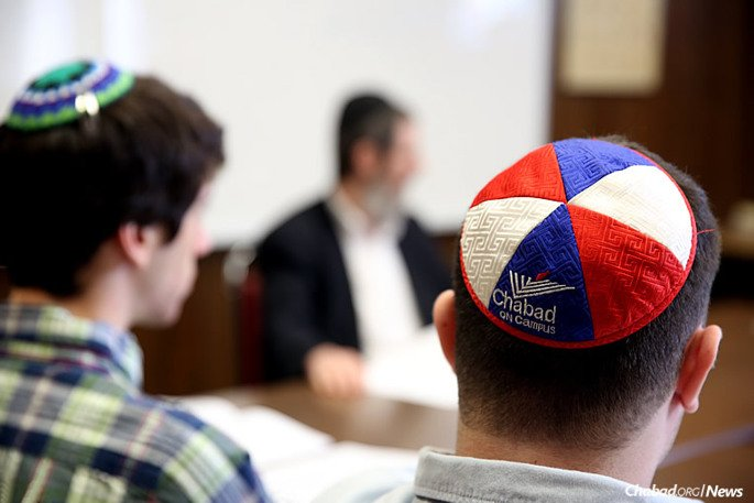A groundbreaking study of Chabad-Lubavitch's impact on university campuses throughout the United States was released this week, the first time that independent researchers have systematically examined the movement's impact on students. The independent study was commissioned by the Hertog Foundation. (Photo: Dovid Birk)