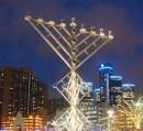 "Menorah in the ""D"""