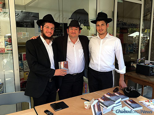 Rabbinical students have visited Corsica over the years to serve the Jewish community there.