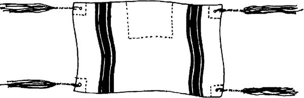 Fig. 4: Tallis gadol. (See sec. 11:18 and 11:34.)