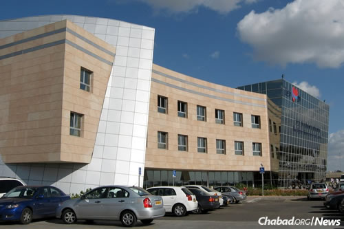 Rabbi Deitsch is being treated at Tel Hashomer Hospital in Ramat Gan, Israel.