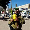 Sukkot in Hebron for Israeli Soldiers and International Visitors