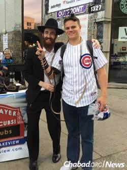 On Friday morning, Kotlarsky and an enlarged team will be out in full force once again, engaging fans who flock to Wrigley.