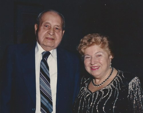 Arnold and Barbara Steiner.