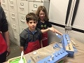 Menorah Workshop at Lowes