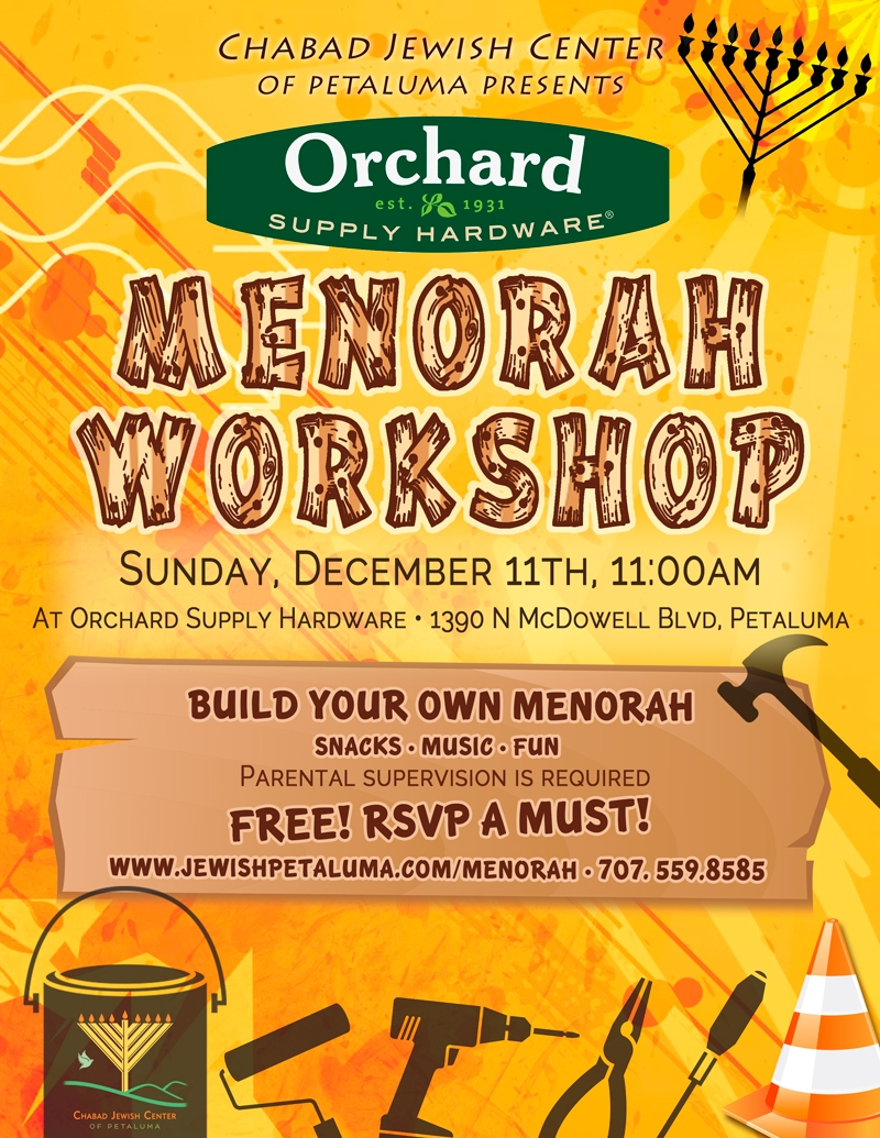 Menorah Workshop @ Orchard