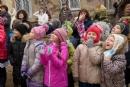 Открытие нового здания детского дома для девочек 'Сабрина'