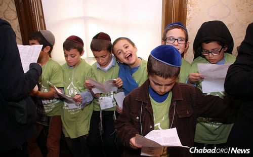 Singing and storytelling are on the roster, as are field trips, games and touring.