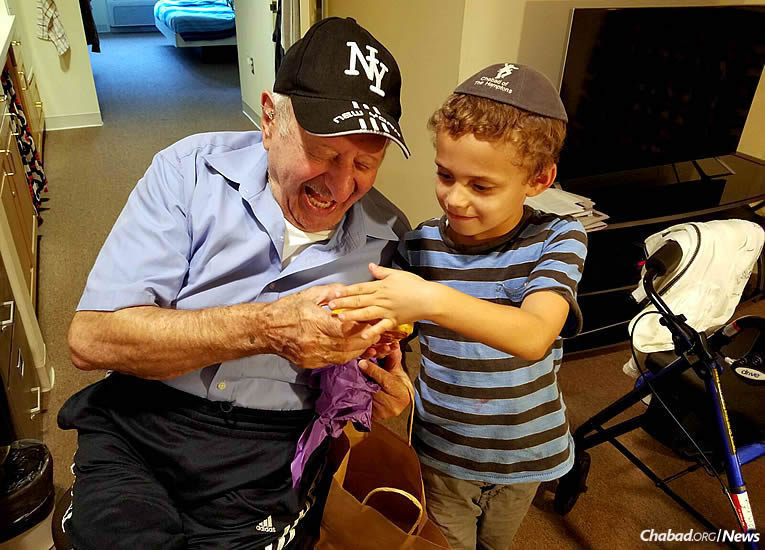 Senior Circle, a new program of Friendship Circle of Virginia, brings children from Rudlin Torah Academy in Richmond, Va., to the nearby Beth Sholom Home for weekly after-school visits that benefit both the students and the residents.