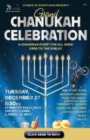 Grand Chanukah Event