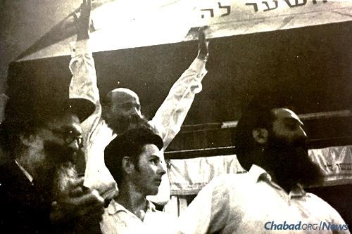19 Kislev in Kfar Chabad (Photo: Challenge)
