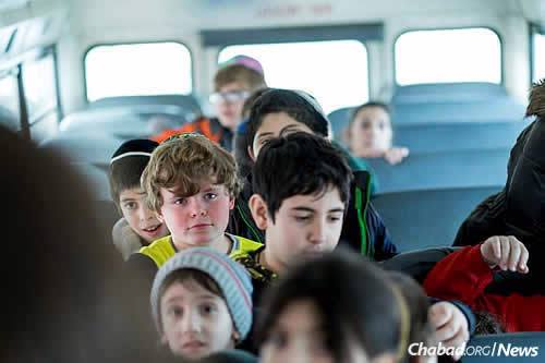 As part of the fun, the children take trips during camp time to indoor amusement venues and water parks. (Photo: Chabad of Camden County)