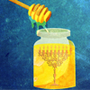 Chanukah Dipped Into Honey