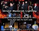Menorah Lighting at the Bellagio Hotel 27 Kislev 5777