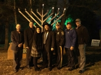Medford Menorah Lighting 2016