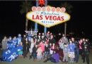 Menorah Car Parade to the Welcome to Las Vegas sign 5777