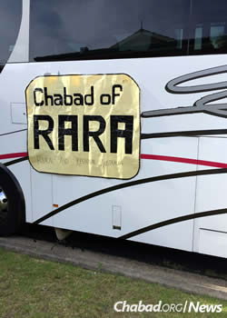 The girls represent Chabad of RARA (Rural and Regional Australia).