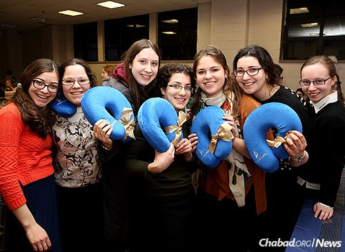 """At last year's """"Girls Appreciation"""" event for Big Sisters involved in the mentoring program (Photo: Courtesy of MyShliach)"""