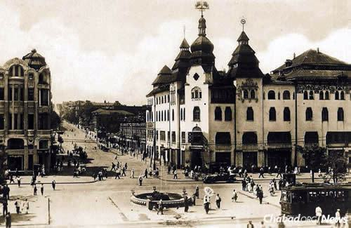 "A general view of Yekaterinoslav, which later became Dnepropetrovsk, of which Rabbi Levi Yitzchak Schneerson served as chief rabbi. ""In many respects, the city of Yekaterinoslav was considered the capital of Ukraine,"" wrote the Rebbe, ""in particular ... for everything Jewish."" (Photo: Jewish Educational Media/Early Years)"