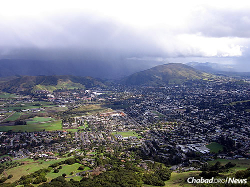 The city of San Luis Obispo, Calif. (Photo: Wikimedia Commons)