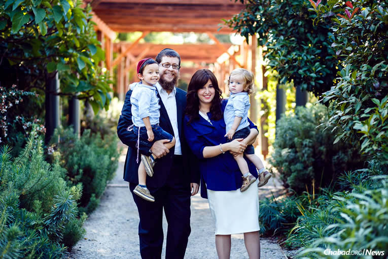 Chabad-Lubavitch emissaries Rabbi Menachem and Bassie Sabbach, and their two young children, are in the process of moving to Nouméa, New Caledonia, on a permanent basis.